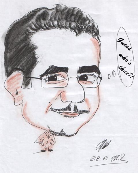 Cartoon of myself